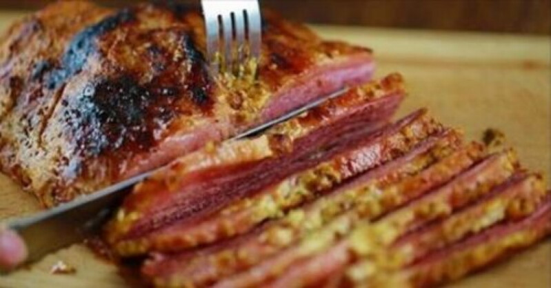 Рецепт запеченного в духовке мяса