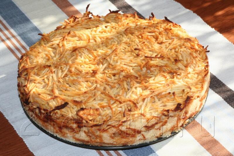Простой рецепт вкусного яблочного пирога