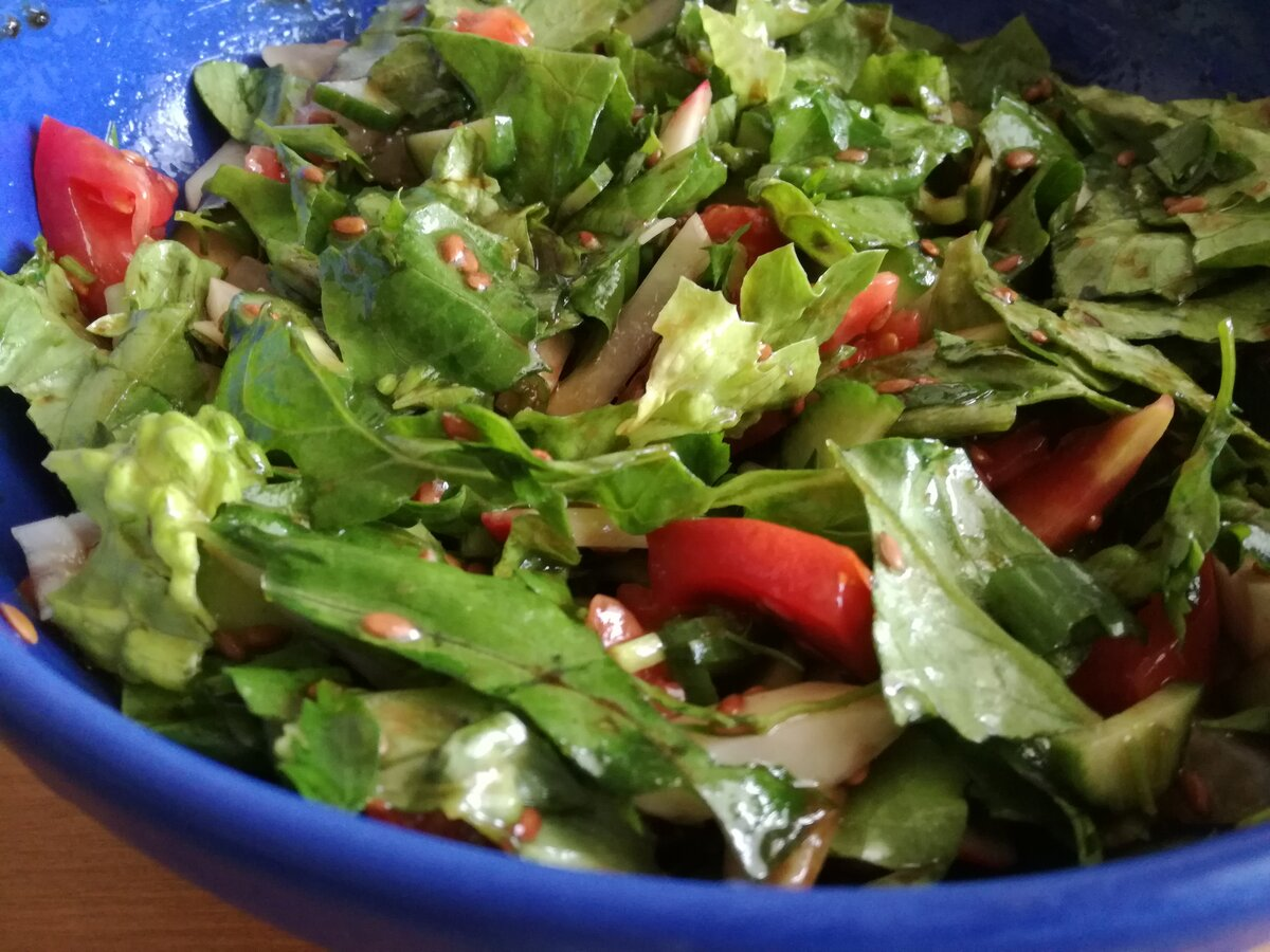 Рецепты салатов для похудения