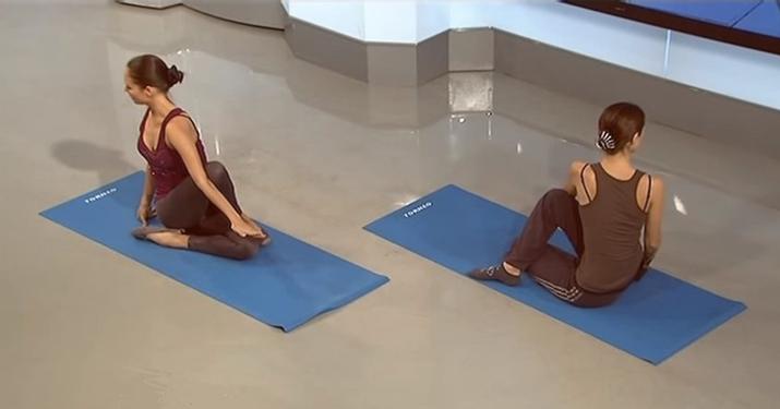 Статическая растяжка: Упражнения, выравнивающие асимметрию тела