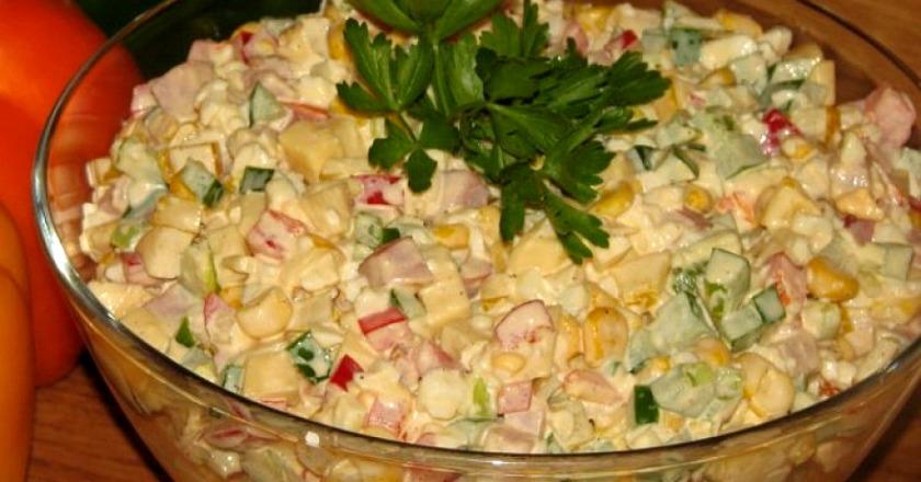 Легкий и сытный салат «Аленушка»: сказочное наслаждение в каждой ложке