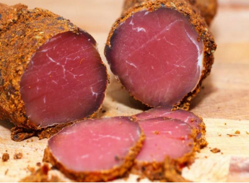 Сыровяленое мясо с чесноком. Мой любимый рецепт