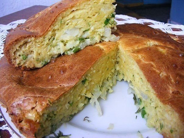 Пирог с капустой — 8 быстрых и вкусных рецептов приготовления