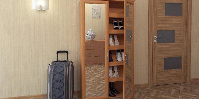 40 чудесных идей удобного обувного шкафа в прихожую