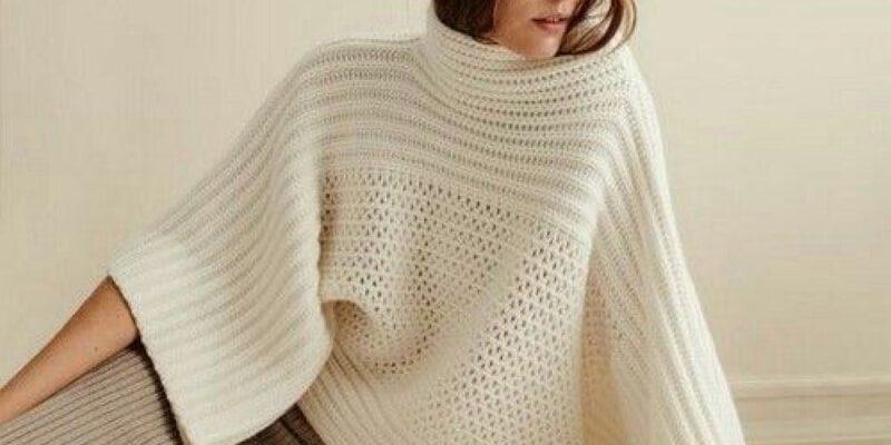 Для тех, кто вяжет: идеи модных осенне-зимних свитеров