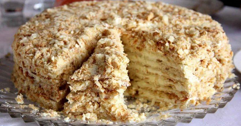 Восхитительный торт без духовки и покупных коржей. Рецепт от моей давней товарки, пользуюсь им больше 15 лет!
