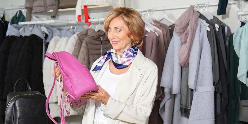Какие сумки портят образ дамы после пятидесяти
