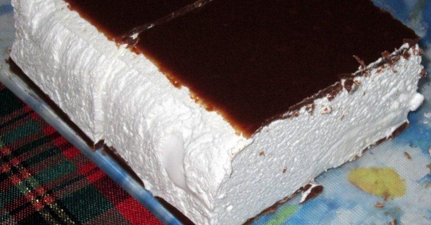 Торт «Птичье молоко», нежный и вкусный, как в детстве!