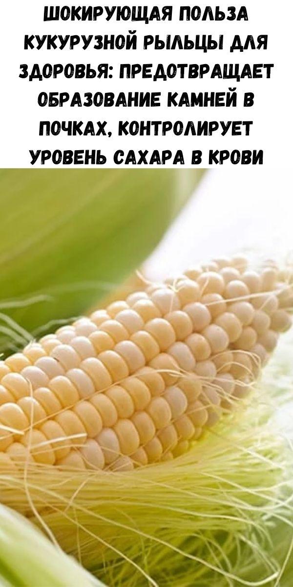 Шокирующая польза кукурузной рыльцы для здоровья: предотвращает образование камней в почках, контролирует уровень сахара в крови, помогает в свертывании крови и многое другое!