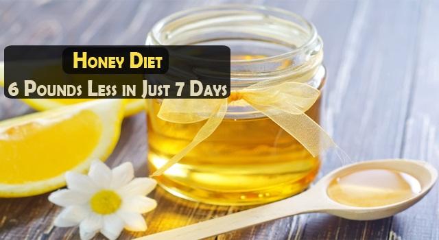 Медовая диета - 2,5 кг всего за 7 дней