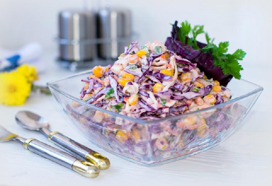 Полезный салат «Коулсло» - ни одной лишней калории!