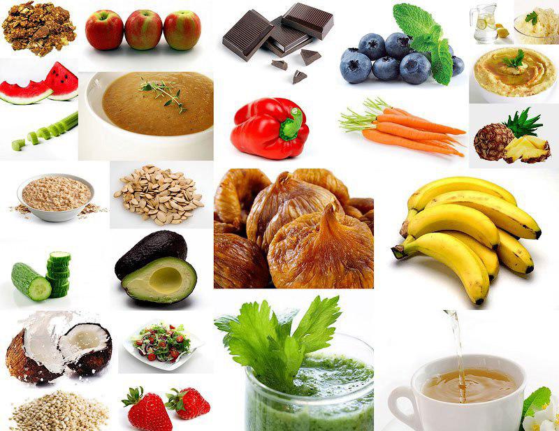 Продукты, сжигающие жиры и регулирующие обмен веществ