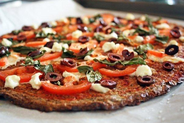 Диетическая пицца для тех, кто следит за фигурой!