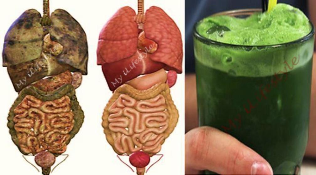 Этот супер зеленый детокс-напиток удалит все ТОКСИНЫ и жир из вашего тела