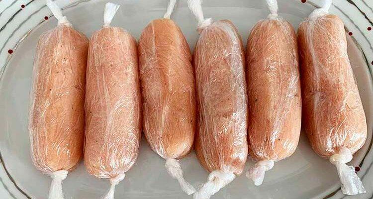 Рецепт ПП-сарделек: готовим 1 кг всего за 20 минут
