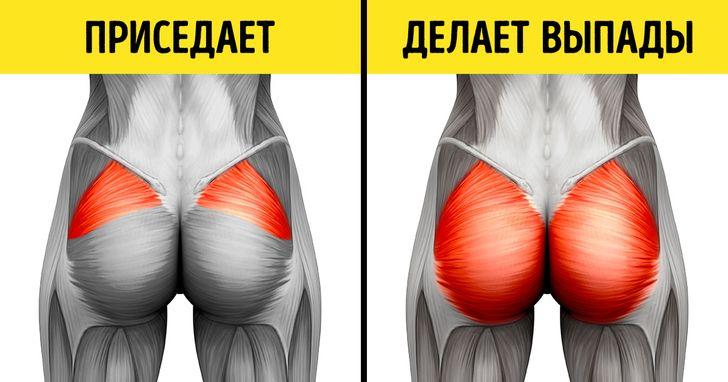 Прорабатываем все мышцы тела!