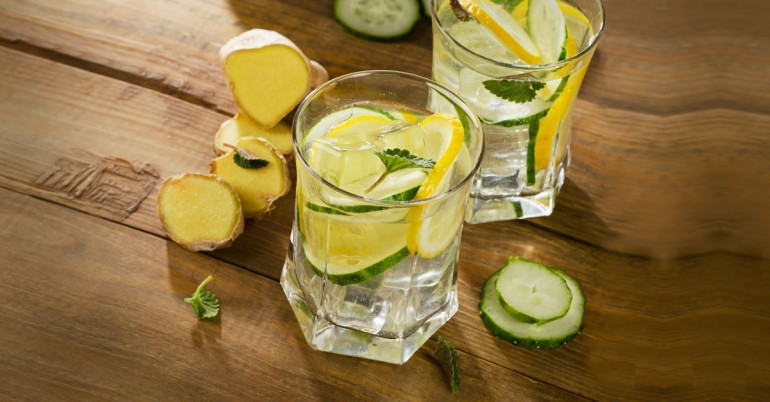 Попробуй этот огуречный сок, растворяющий жир мгновенно!